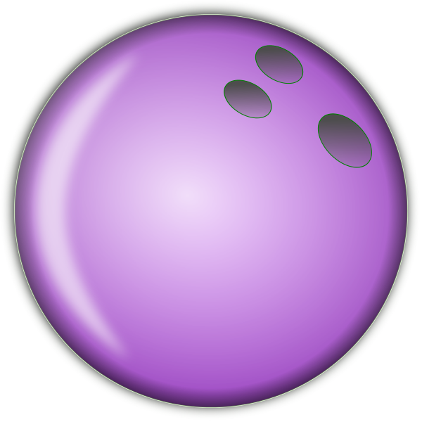 600x600 Bowling Ball Purple Bowling Pin Clipart Bowling Cliparts Image
