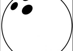 235x165 Well Suited Design Bowling Ball Clip Art B W I Abcteach Com