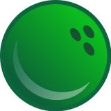 160x160 bowling ball clipart green