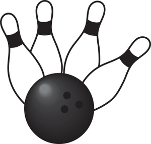 300x286 Bowling Ball Bowling Clipart Image Clip Art Illustration Of 4