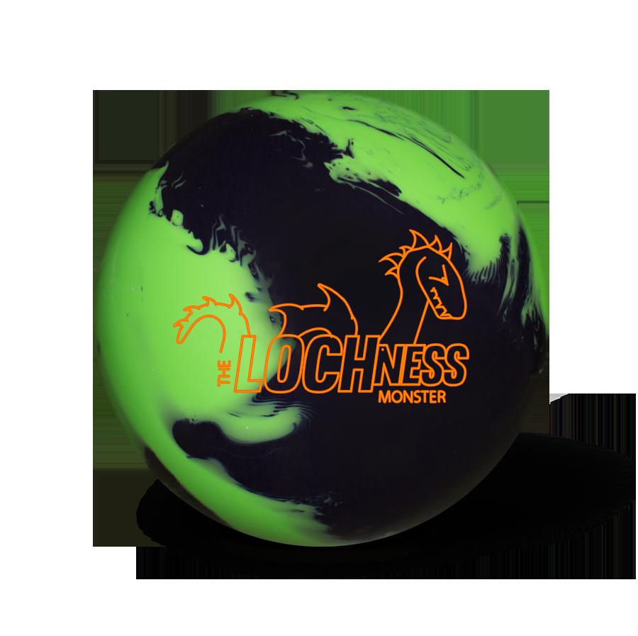 900x897 The Loch Ness Monster Bowling Ball