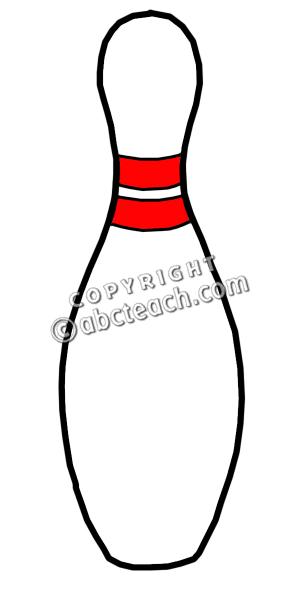300x600 Clip Art Bowling Pin Color Clipart Panda