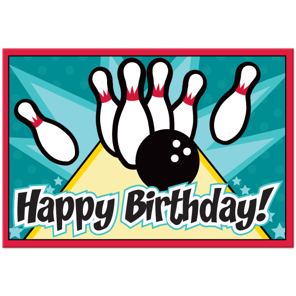 600x600 Free Bowling Party Clipart