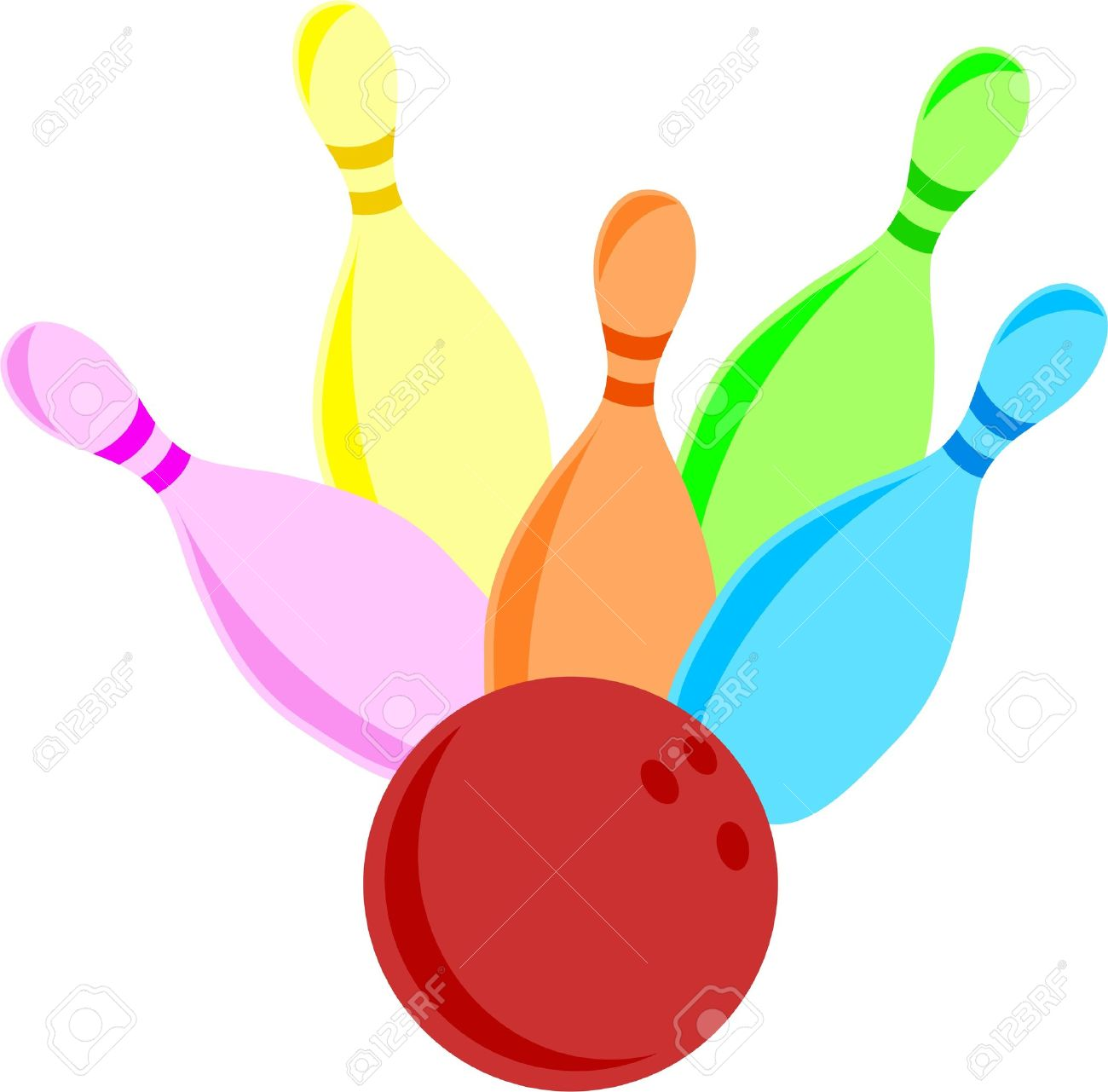 1300x1281 Bowling Clipart Skittle