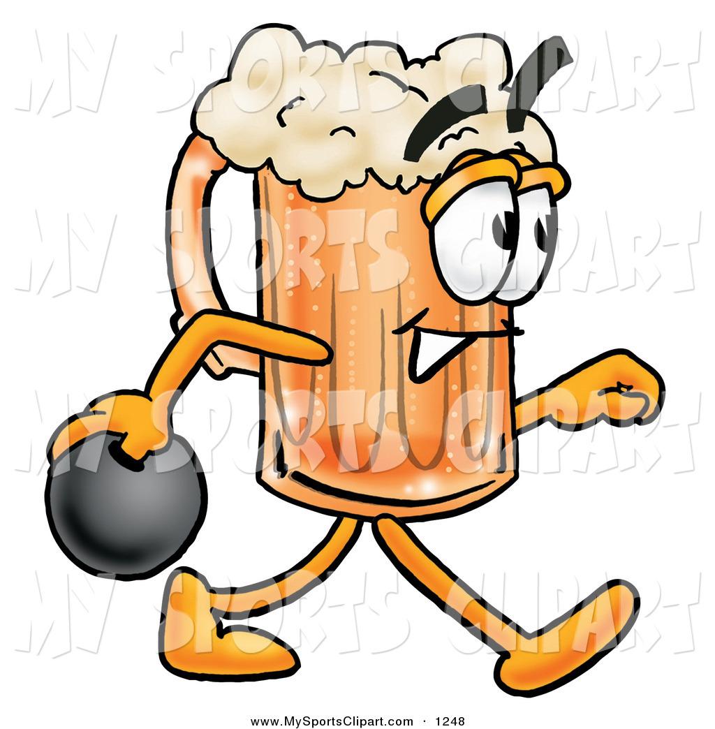 1024x1044 Sports Clip Art Of A Sporty Beer Mug Mascot Cartoon Character