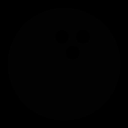 512x512 Bowling Ball Clip Art Image