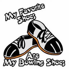 242x240 Free Bowling Shoes Clipart