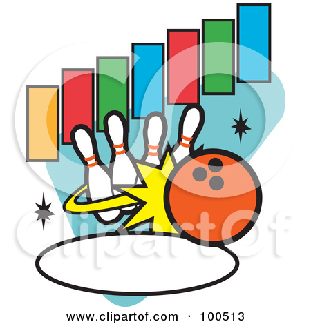 450x470 Funny Bowling Clipart