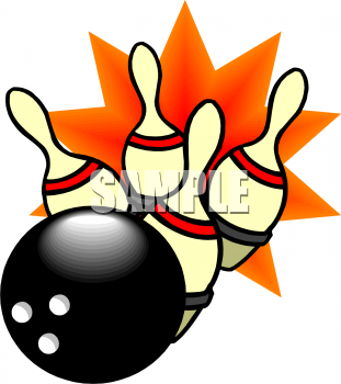 311x350 Royalty Free Bowling Clip Art, Sport Clipart