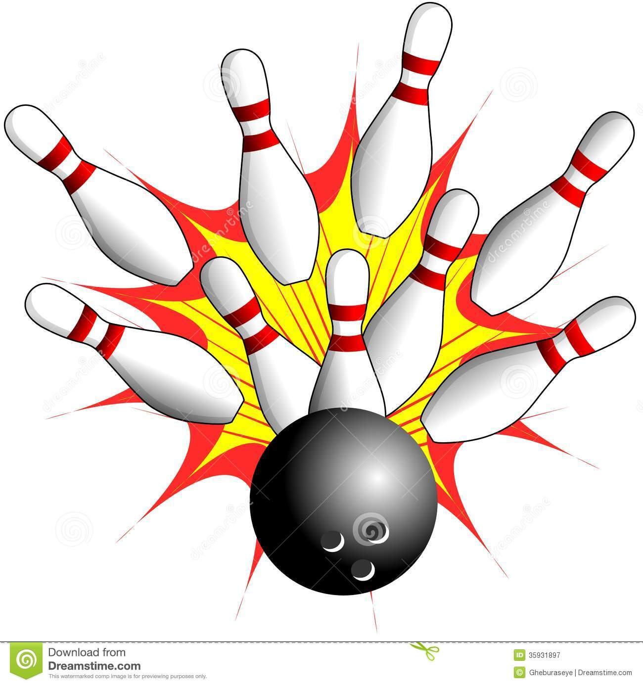 1300x1387 Bowling Clipart