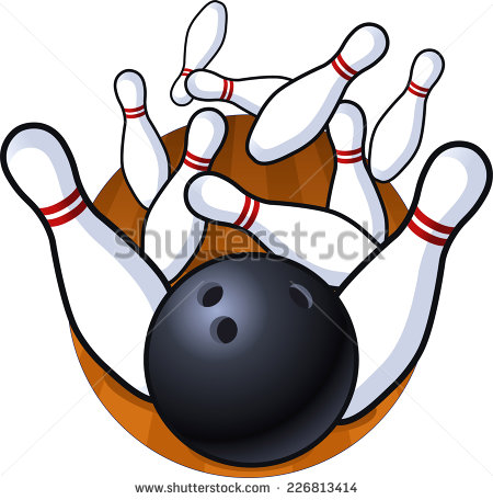 450x456 Ten Pin Bowling Clip Art Free