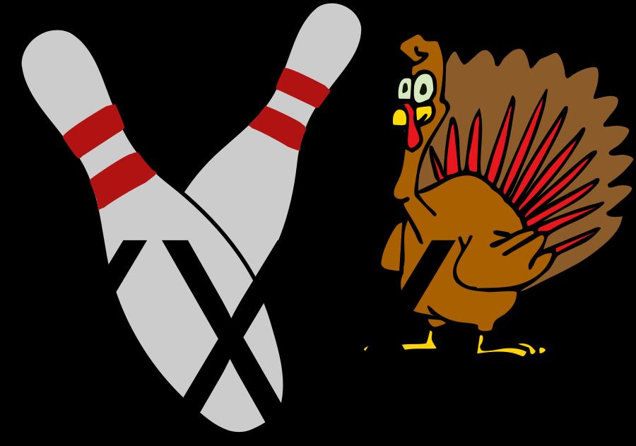 900x631 Bowling Turkey Clipart
