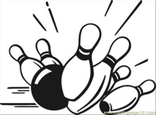 650x481 Vector clipart bowling