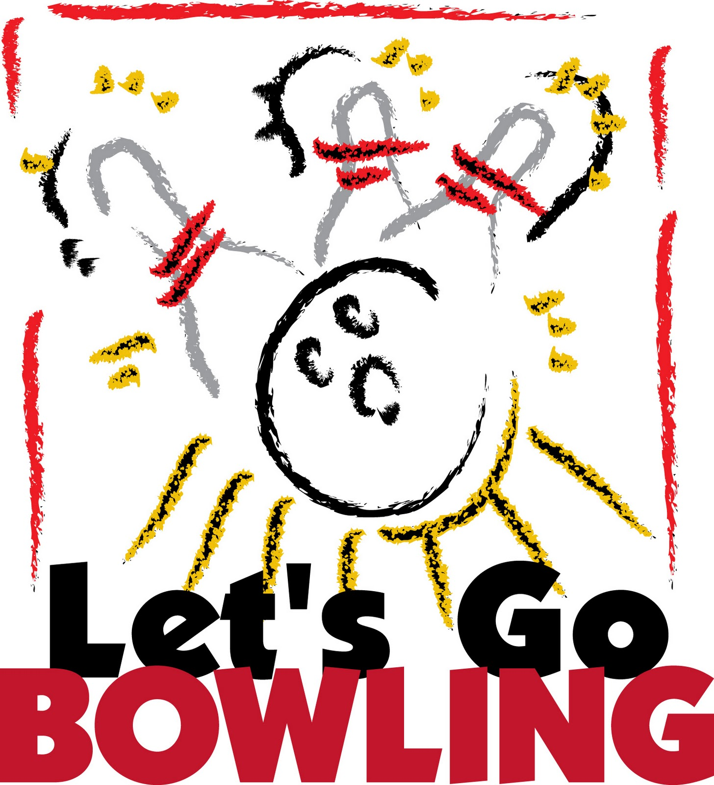 1456x1600 Bowling Theme Cliparts#183478