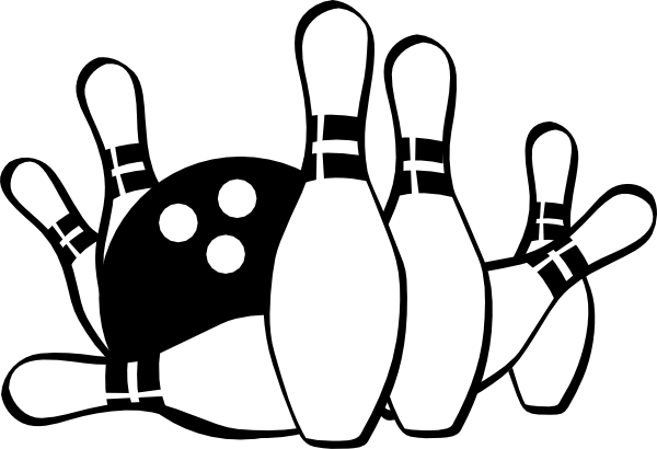 600x410 Bowling clipart