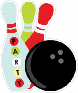 251x300 Bowling clipart bowling party