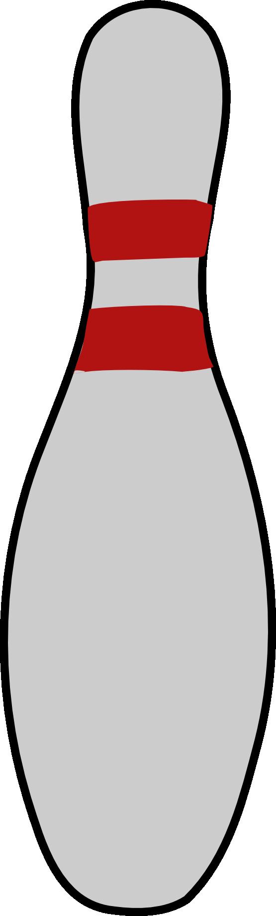 555x1841 Bowling Clipart Pin