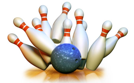 439x273 Pin bowling clipart clipartfest 2