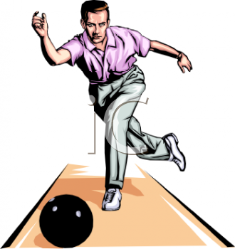 330x350 Royalty Free Bowling Clipart