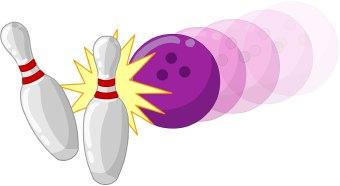 340x186 Bowling Clip Art Free Clipart 4