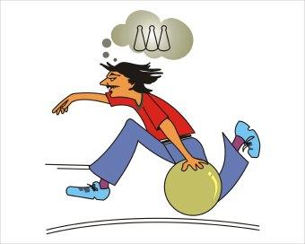 340x272 Bowling Clip Art