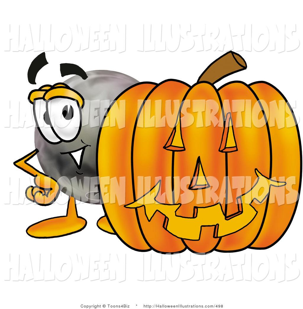 1024x1044 Halloween Clip Art Of A Friendly Bowling Ball Mascot Cartoon