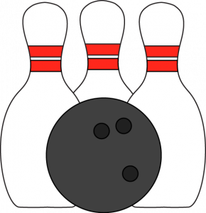 290x300 Project Ideas Bowling Pins Clipart And Ball Clip Art Image