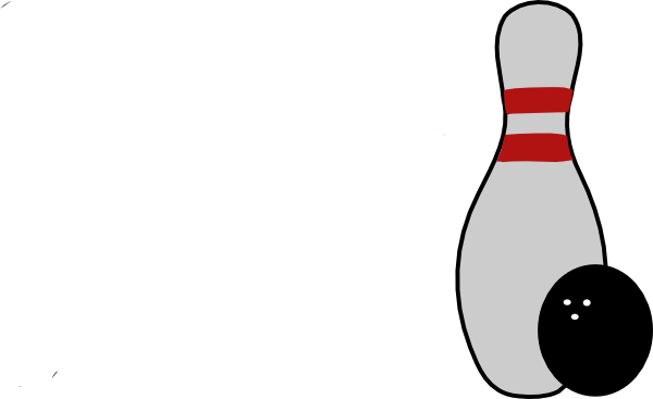 600x367 Bowling Pin Ball By Nb Clip Art