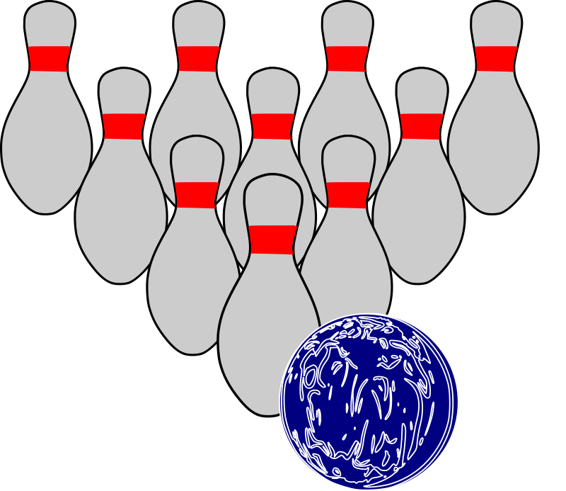 800x693 Bowling Clipart Free Sports Images Sports Clipart Org