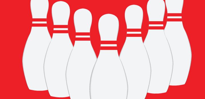 720x350 Bowling pins vectors Vector Free Download