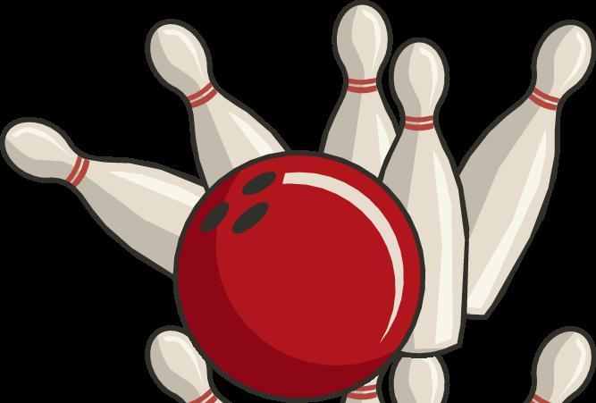 667x451 Free bowling clipart