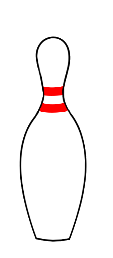 363x827 free Bowling Pin Clipart – 101 Clip Art