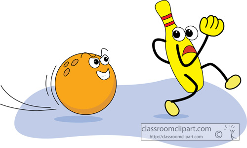 500x299 Bowling Clip Art Bowling Ball And Pins 2