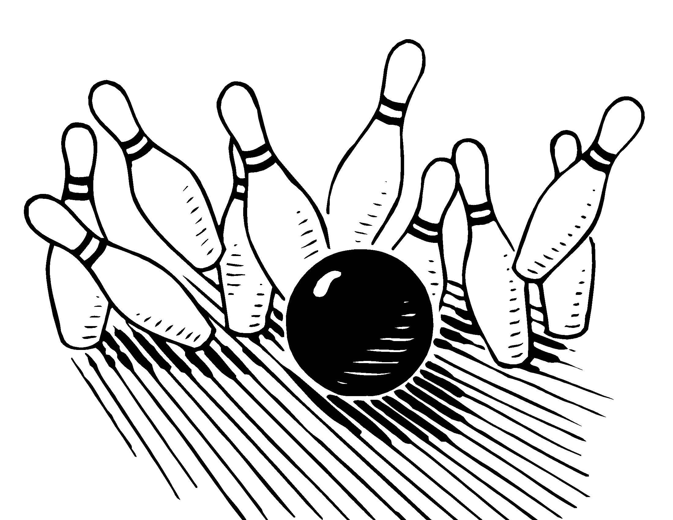 2200x1700 Bowling Pin And Ball