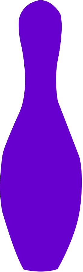 276x900 Bowling Pin Opurple Png Clip Arts For Web