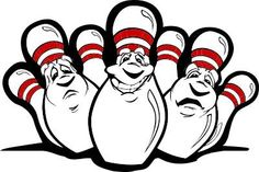 236x157 Funny Bowling Pin Clipart