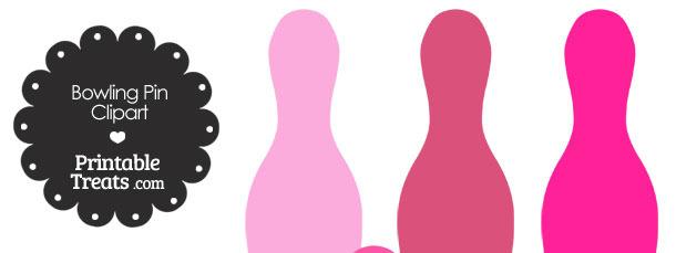 610x229 Pink Bowling Clip Art Cliparts