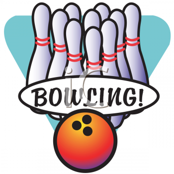350x350 Royalty Free Bowling Clip Art, Sport Clipart