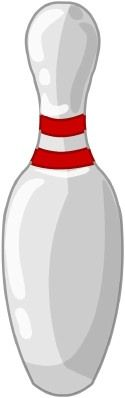 125x398 Bowling Birthday Party Printable Bowling Pin Centerpiece