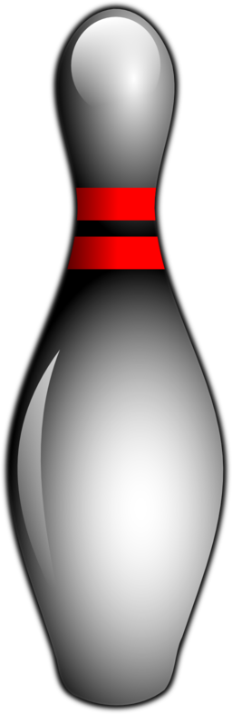 256x786 Bowling Pin Clipart I2clipart