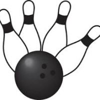 200x200 Bowling Pin Clipart Free