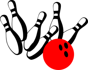 299x237 Bowling Pinred Vector
