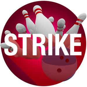 300x300 Bowling Pins Show Skittles Game Royalty Free Stock Image