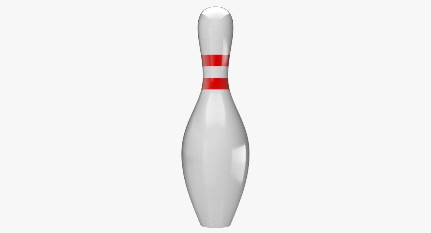 1480x800 Bowling Pin 3d Cgtrader