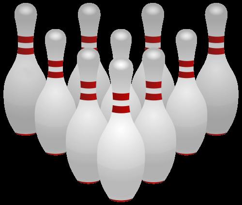 500x423 Bowling Pins Png Clipart Clip Art Four Clip Art