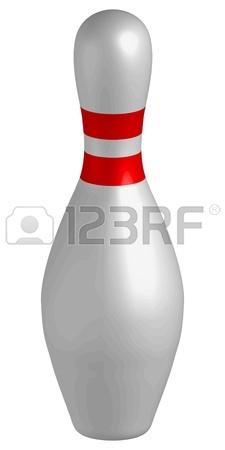 225x450 Bowling Pins Royalty Free Cliparts, Vectors, And Stock