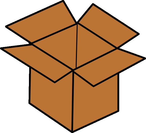 600x549 Brown Box Clip Art
