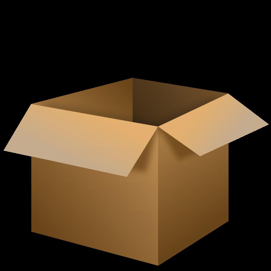 900x900 Cardboard Box Cardboard Clip Art Clipartfest 3