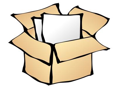 400x300 Cardboard Box Free Cardboard Clipart 1 Page Of Public Domain Clip