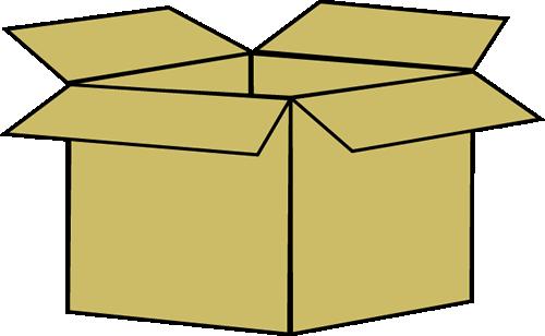 500x308 Box Clip Art